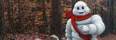 El muñeco de Michelín 'adelgaza' de nuevo para protagonizar un spot televisivo