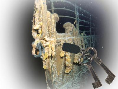Subastan llaves de oficina de correos del Titanic en 150 mil euros