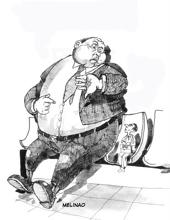 Cuesta más atender a flacos que a gordos