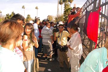 """""""Queremos clases""""... Estudiantes de la Universidad de Sonora"""